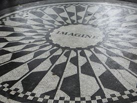 Central Park, and obligatory stop by Strawberry Fields.