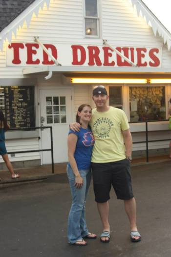 Ted Drewes! Where we had our first date.